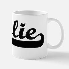 Jolie surname classic retro design Mug
