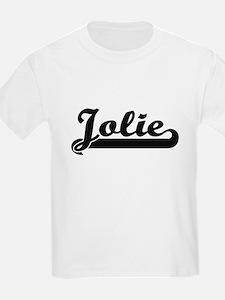 Jolie surname classic retro design T-Shirt