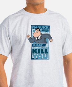 American Dad Quick Like a Cat T-Shirt