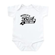 World's Best Big Bro Infant Bodysuit