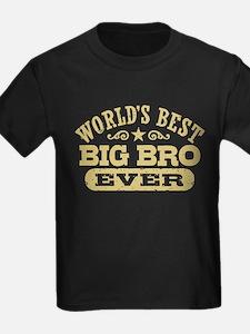 World's Best Big Bro Ever T