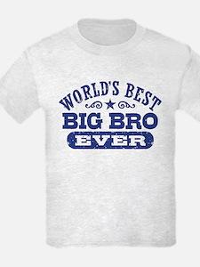 World's Best Big Bro Ever T-Shirt