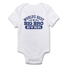 World's Best Big Bro Ever Infant Bodysuit