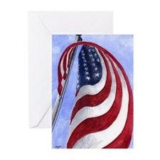 Unique Freedom flag Greeting Cards (Pk of 20)