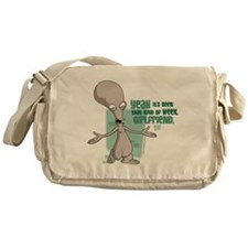 American Dad Girlfriend Messenger Bag