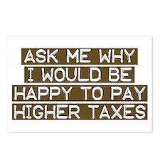 Liberal Values Tax Postcards (8 pk)