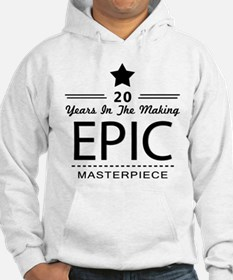 20th Birthday 20 Years Old Hoodie