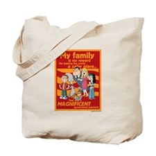 American Dad My Family Tote Bag