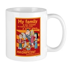 American Dad My Family Mug