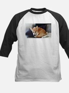 Imitating a sleeping fox Baseball Jersey