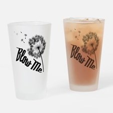 Blow Me Drinking Glass