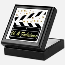 DAZZLING 16TH DIVA Keepsake Box