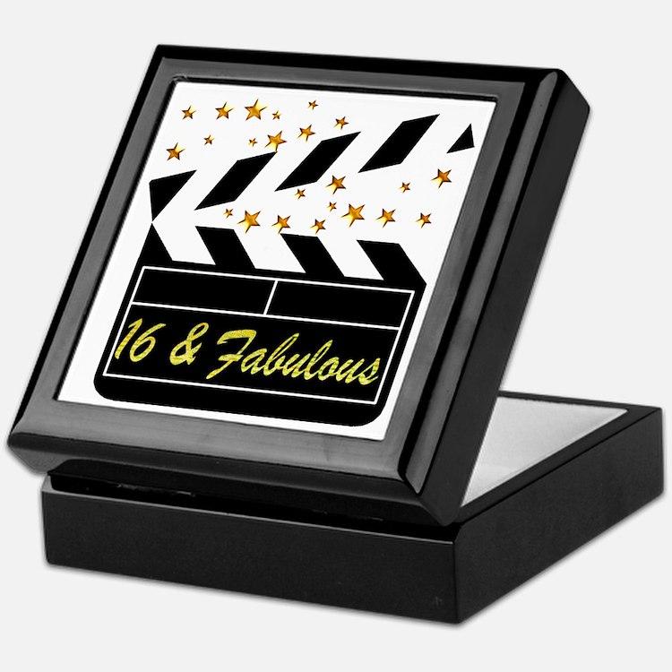 DAZZLING 16TH DIVA Keepsake Box