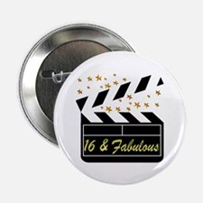 "DAZZLING 16TH DIVA 2.25"" Button"