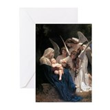 Madonna child Greeting Cards (20 Pack)