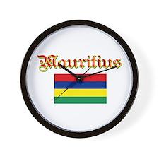 Mauritian Flag Wall Clock