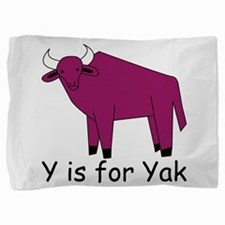 Yak10.png Pillow Sham