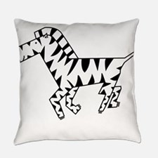 zebra10.png Everyday Pillow