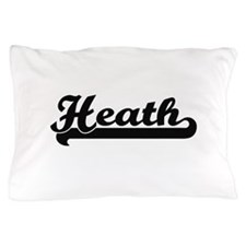 Heath surname classic retro design Pillow Case
