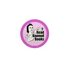 Read Banned Books Mini Buttons (10 pk)