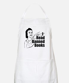 Read Banned Books Apron