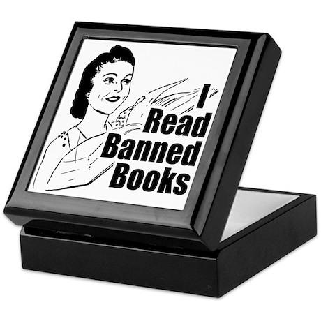 Read Banned Books Keepsake Box