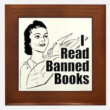 Read Banned Books Tile (Framed)