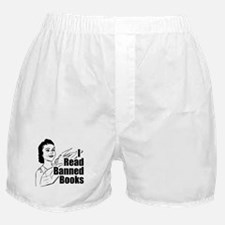 Read Banned Books Boxer Shorts