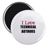 I Love TECHNICAL AUTHORS Magnet