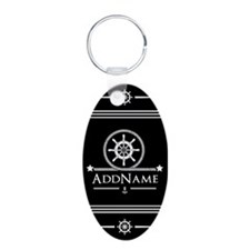 Upload Your Own Color Nauti Keychains