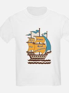 Pro Immigration Kids T Shirt (Light)