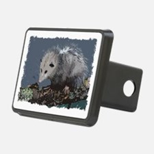 Opossum on a Gnarley Branc Hitch Cover