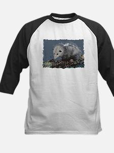 Opossum on a Gnarley Branch Baseball Jersey