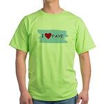 I LOVE FAYE Green T-Shirt