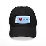 I LOVE FAYE Black Cap