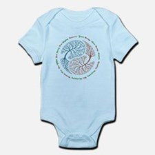 Yin Yang Tree Infant Bodysuit