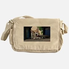 I'm here to make your day better ? Messenger Bag