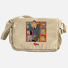 American Dad Frames Messenger Bag