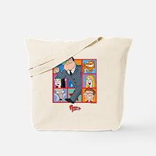 American Dad Frames Tote Bag