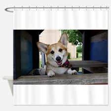 I'm here to make your day better ? Shower Curtain