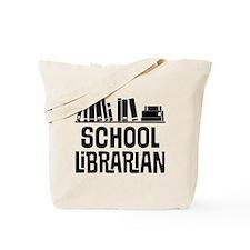 School Librarian Tote Bag