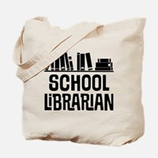 School Librarian Tote Bag