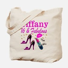 16 AND FABULOUS Tote Bag