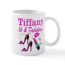 16 AND FABULOUS Small Mug