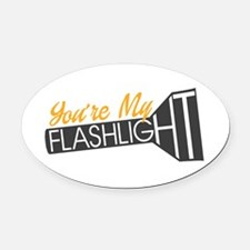 Pitch Perfect 2: You're My Flashli Oval Car Magnet