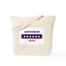 Santorum 2016 Tote Bag