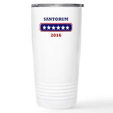Santorum 2016 Travel Mug