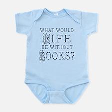 Book Lover Quote Infant Bodysuit