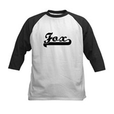 Fox surname classic retro design Baseball Jersey