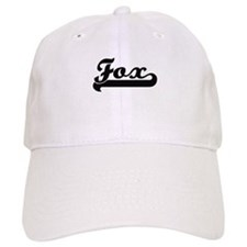 Fox surname classic retro design Baseball Cap